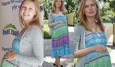 Górska w 8 miesiącu ciąży