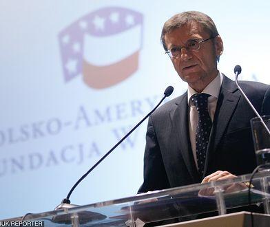 Na czele Fundacji stoi Jerzy Koźmiński, były ambasador RP w USA