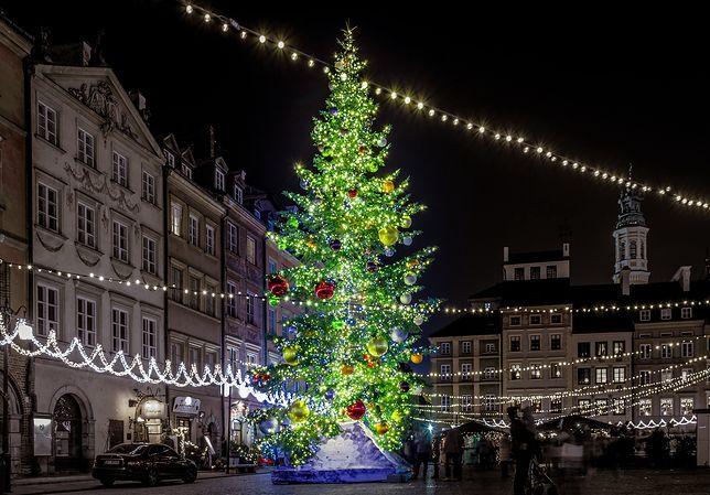 Warszawa. Boże Narodzenie bez wspólnego kolędowania w stolicy