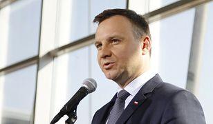 """Andrzej Duda skomentował sprawę Nawalnego dla """"Financial Times"""""""