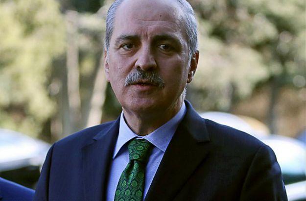 Wicepremier Turcji Numan Kurtulmus