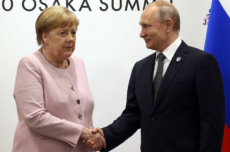 Cyberatak na Angelę Merkel. Niemcy zapowiadają sankcje