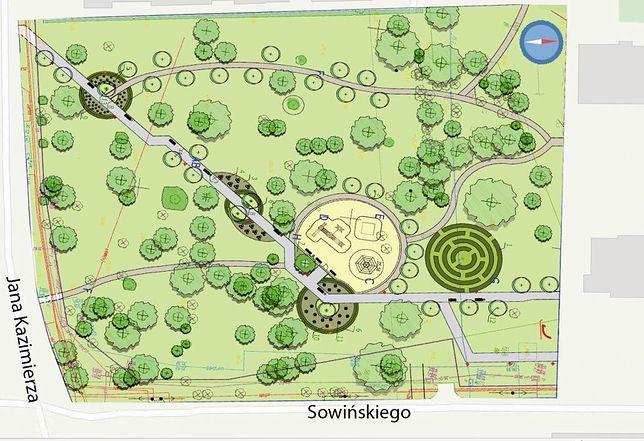 Wiemy jak będzie wyglądał Park na Odolanach
