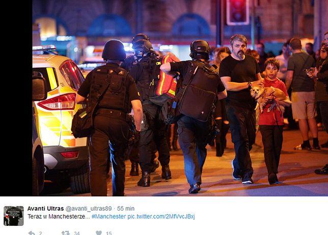 Wybuch w Manchesterze. Policja potwierdziła 22 ofiary śmiertelne