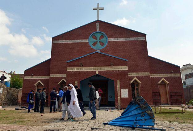 Jeden z kościołów, przed którym doszło do ataku