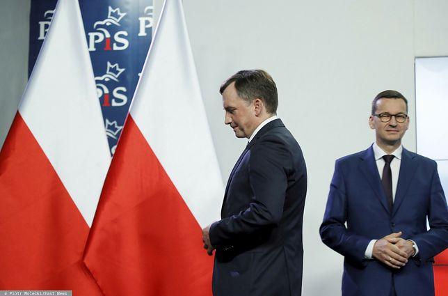 """Konflikt w obozie PiS. """"Przedwczesny pojedynek Ziobry"""""""