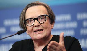 Agnieszka Holland opowiedziała o swoim politycznym wystąpieniu w Gdyni