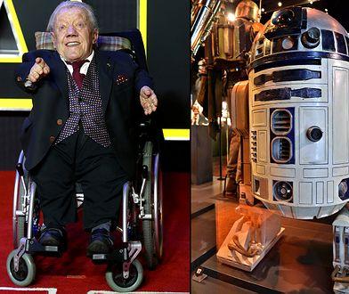 """""""Po prostu siedziałem w środku robota i pociągałem za dźwignie"""". Fani """"Gwiezdnych Wojen"""" pokochali go za rolę R2-D2"""