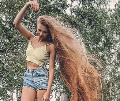 Daira Gubanova ma się czym pochwalić. Jej włosy mają prawie 2 metry długości