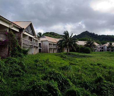 Opuszczony hotel Sheraton stoi nieukończony od końca lat 80.