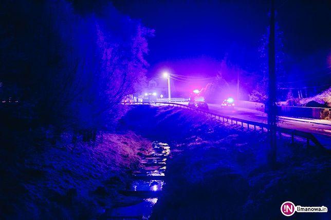 Tragiczny wypadek pod Nowym Sączem. Policja szuka sprawcy
