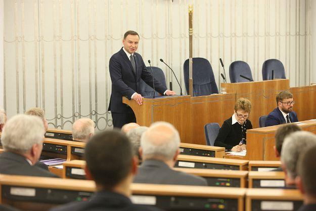 Senackie komisje przeciw projektowi Platformy Obywatelskiej o apel do prezydenta ws. TK