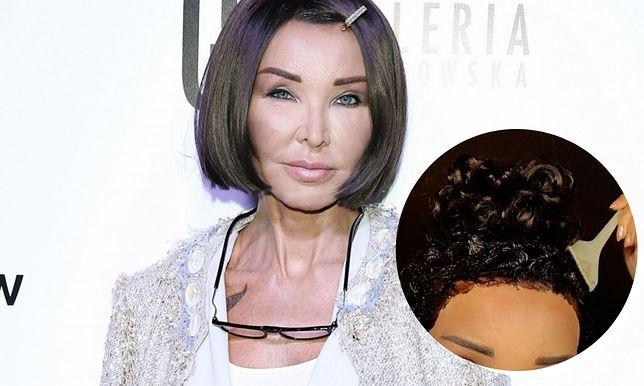 Ewa Minge sama zafarbowała włosy. Nie uniknęła wpadki