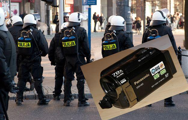 Policjant zastawił służbową kamerę w lombardzie. Plan nie poszedł po jego myśli