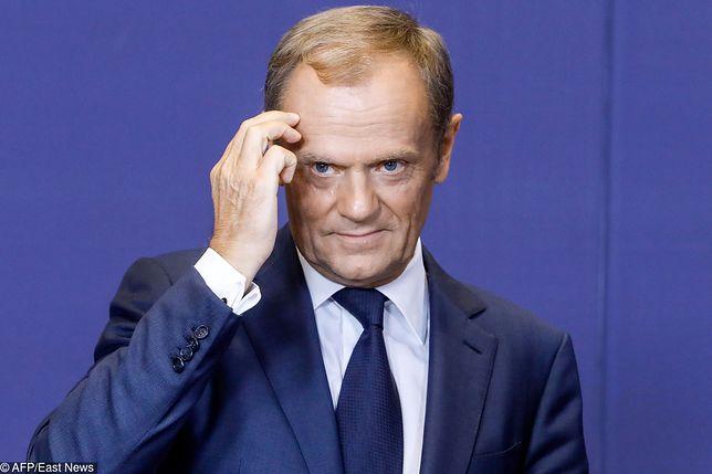 """Donald Tusk namawia do porozumienia ws. brexitu. """"Nikt nie ma powodów, by się cieszyć"""""""