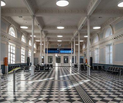 Dworzec w Białymstoku po modernizacji