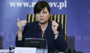 Izabela Leszczyna skierowała swoją wypowiedź do wiceministra Jarosława Sellina