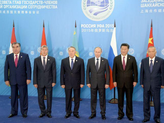 Liderzy państw zrzeszonych w Szanghajskiej Organizacji Współpracy