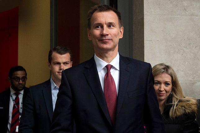 Jeremy Hunt przewodniczy brytyjskiej delegacji na konferencji bliskowschodniej