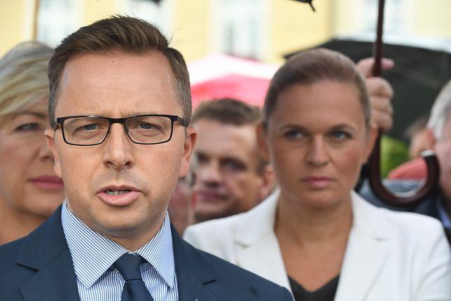 Dariusz Joński i Barbara Nowacka. Wybory parlamentarne 2019.