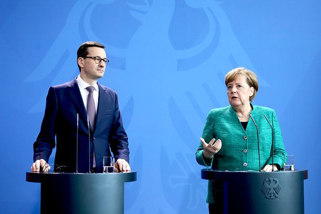 Wizyta w Warszawie będzie już drugim spotkaniem Morawieckiego i Merkel