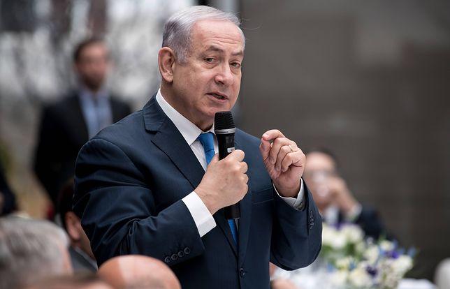 Szczyt bliskowschodni w Warszawie. Sprawa Iranu głównym tematem wystąpienia Benjamina Netanjahu (na zdj.)
