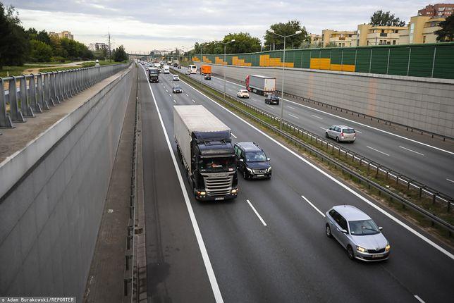 Mazowsze. Na odcinku trasy S8 zniesiono ograniczenie prędkości do 60 km/h
