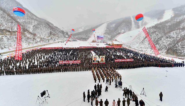 Sensacja w Korei Płn. - zobacz, co wybudowali w górach