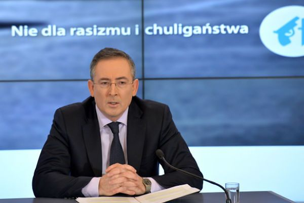 Szef MSW Bartłomiej Sienkiewicz