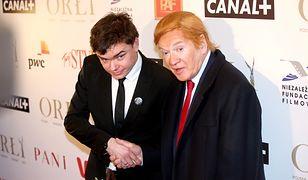 Jan P. Matuszyński i Andrzej Seweryn jako Donald Trump