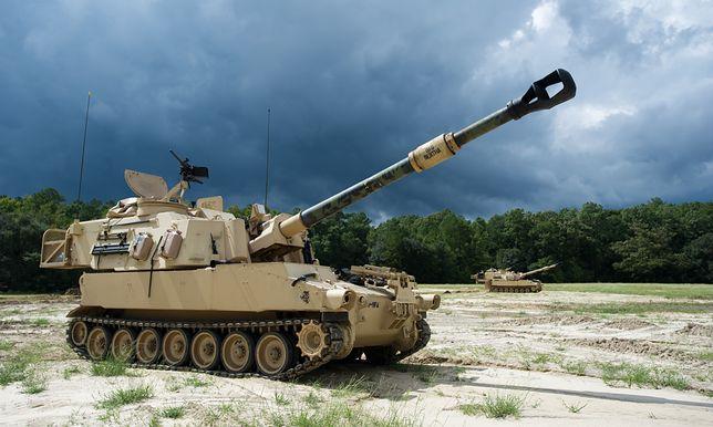 Samobieżna haubica M109A6 Paladin