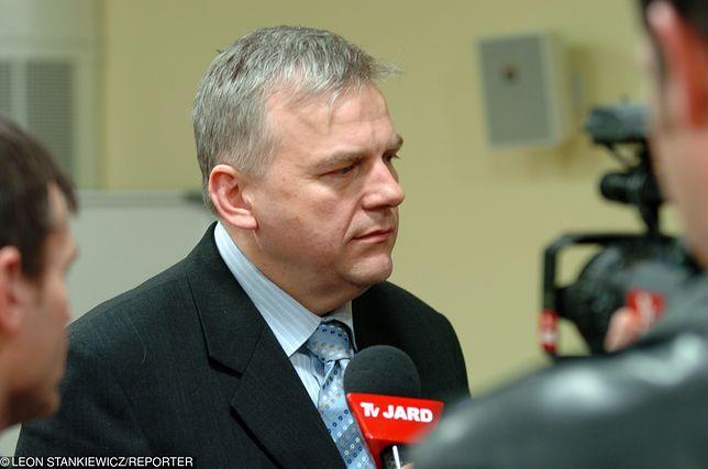 Bogusław Dębski poinformował o decyzji w krótkim oświadczeniu.