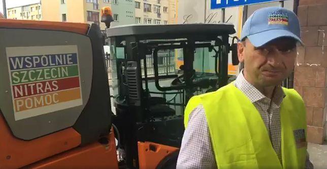Sławomir Nitras zachęca, aby zgłaszać do niego miejsca w Szczecinie, które wymagają sprzątania