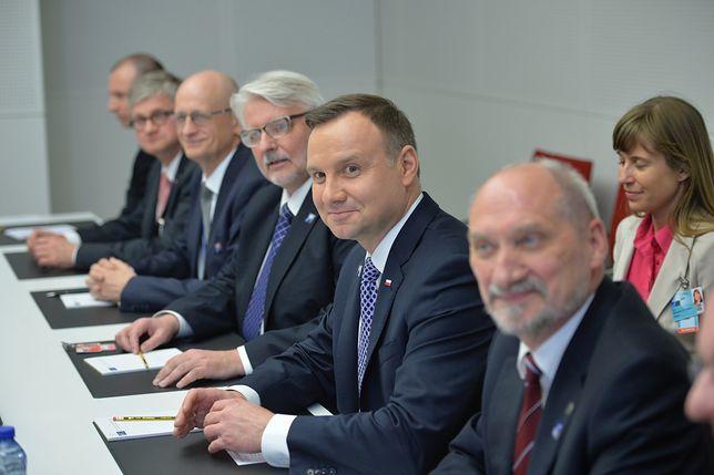 Spotkanie w kwaterze głównej NATO w Brukseli