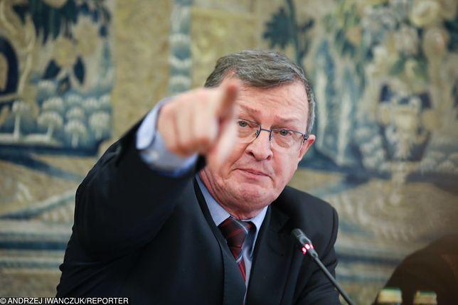 Poseł Tadeusz Cymański dwójkę dzieci wstawił do polityki. Syn jest radnym, córka w sejmiku wojwództwa.