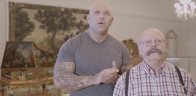 Największą popularnością cieszy się klip z ojcem i synem