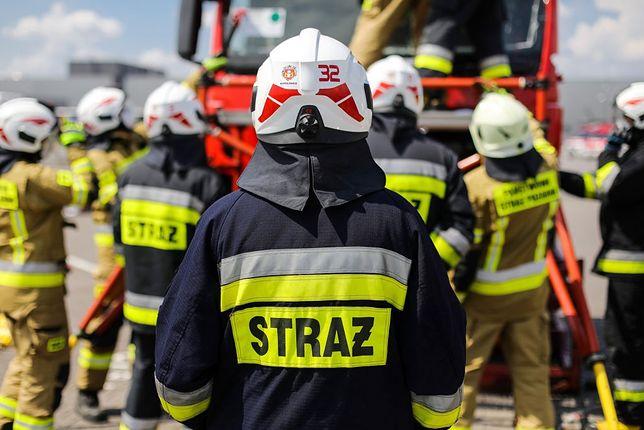 Rozszczelnienie gazociągu w Tarnowskich Górach (zdjęcie ilustracyjne)