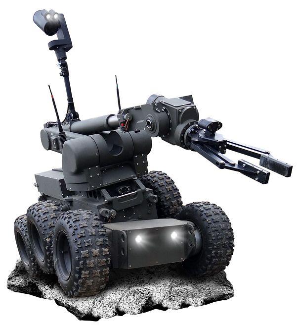 Polskie roboty Ibis spełniają się w wielu rolach, m.in. rozpoznania i neutralizacji niebezpiecznych ładunków