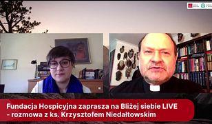 Ks. Krzysztof Niedałtowski o ochronie przed koronawirusem. Rozwiał wątpliwości