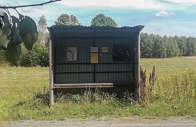 Tak wyglądają przystanki autobusowe w niektórych wsiach