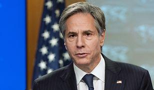 USA. Minister Rau zacytował słowa Antony'ego Blinkena o Nord Stream 2