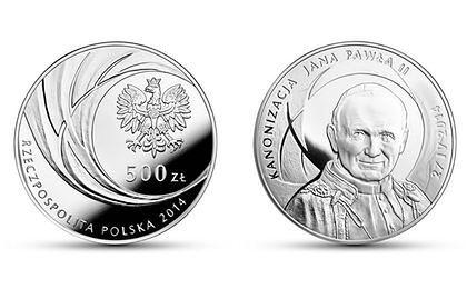 Papież na kilogramowej monecie od NBP
