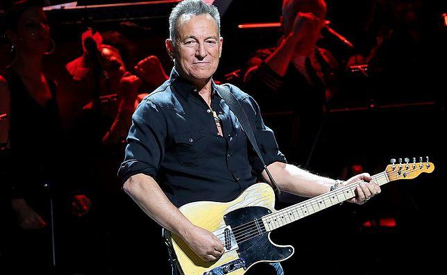 Bruce Springsteen na koncercie w Nowym Jorku w 2019 r.