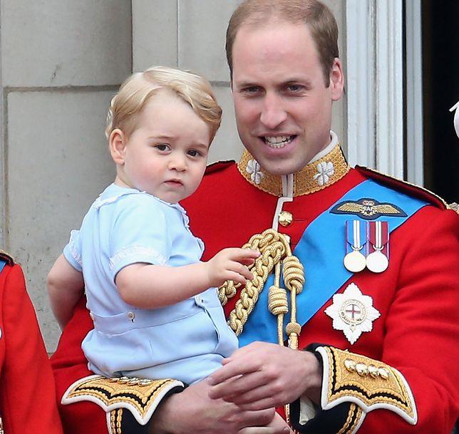 Rodzice małego George'a nie kryją go przed światem