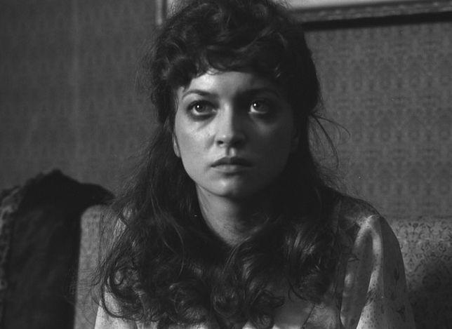 """Halina Bednarz w filmie """"Pobojowisko"""", 1984 r."""
