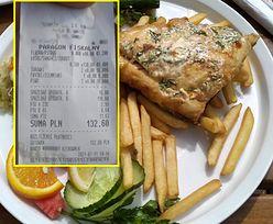 Paragon z nadbałtyckiego baru. Za rybę jak za zboże, 130 zł za kilogram!