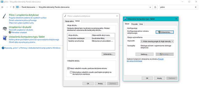 Jeżeli ktoś twierdzi, że to Windows 8 dodał obsługę tabletów, spieszę z przypomnieniem, że nawet to było dostępne w systemie już wcześniej (fot. Kamil Dudek)