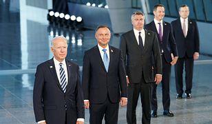 Andrzej Duda spotkał się Joe Bidenem na szczycie NATO. Uwagę przykuł jeden szczegół