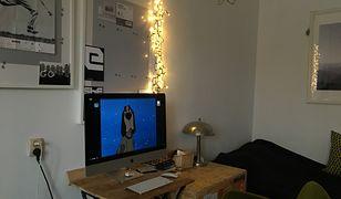 Telewizor w mieszkaniu naszego czytelnika został zastąpiony przez monitor, który na co dzień służy do pracy