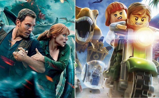 """""""Jurassic World"""" doczekał się nowych zestawów Lego. Kolejny film trafi do kin dopiero w 2021 r."""